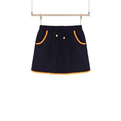 dievčenská športová sukňa