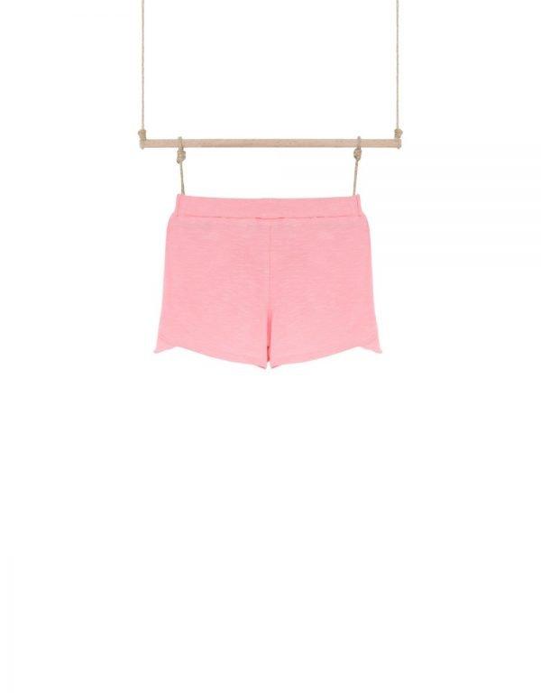 dievčenské kraťasy ružové