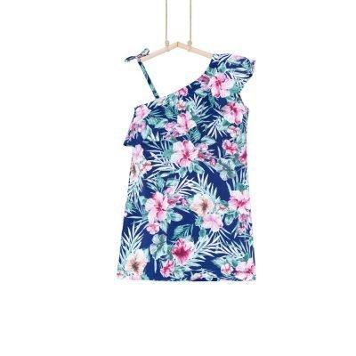 letné šaty dievčenské 116 128 140 152