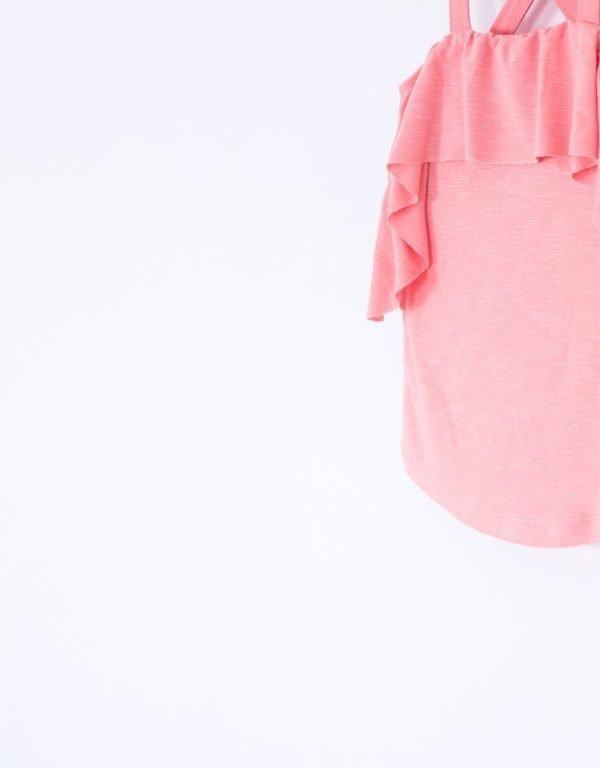 tričko s volánom dievčenské