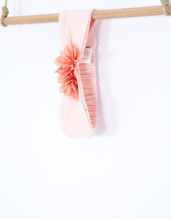 čelenka pre bábätko ružová
