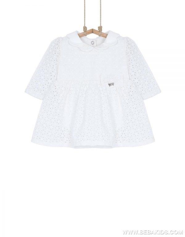 šaty pre bábätko biele