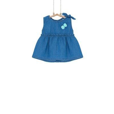 dievčenské šaty rifľové