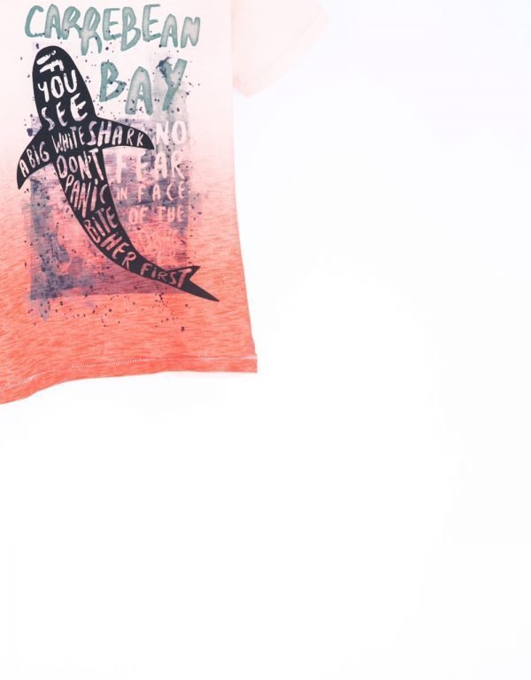 koralové tričko detské