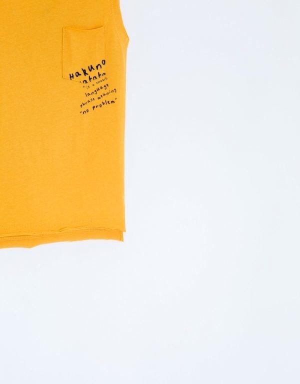 tielko žlté