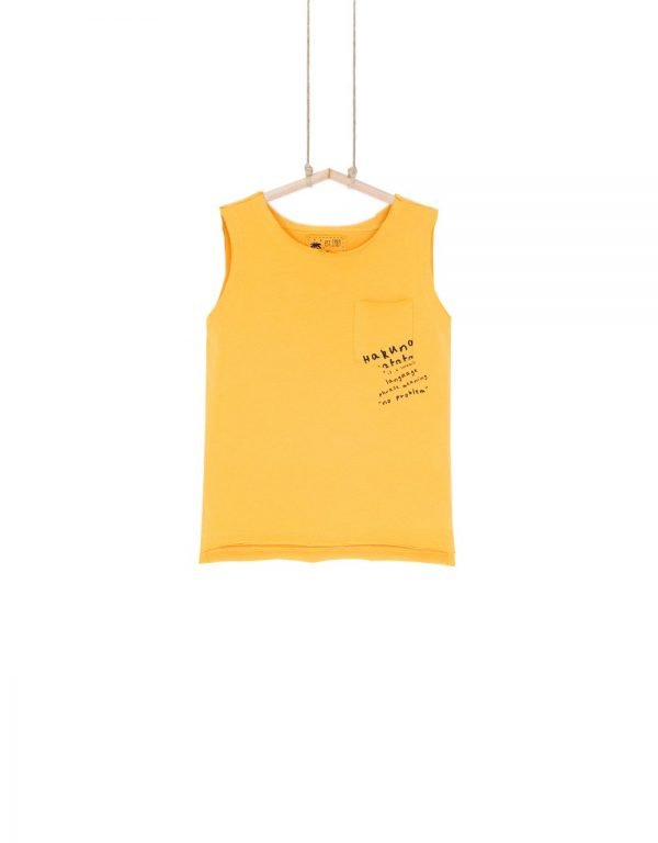 žlté tielko