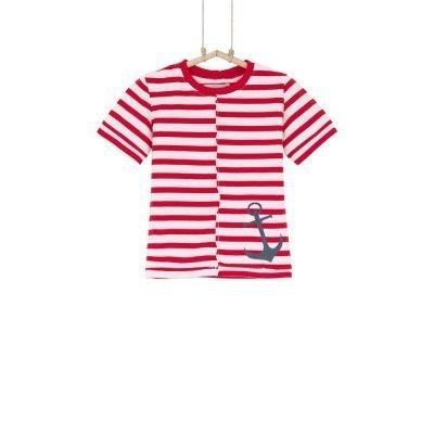 tričko pásikavé červené