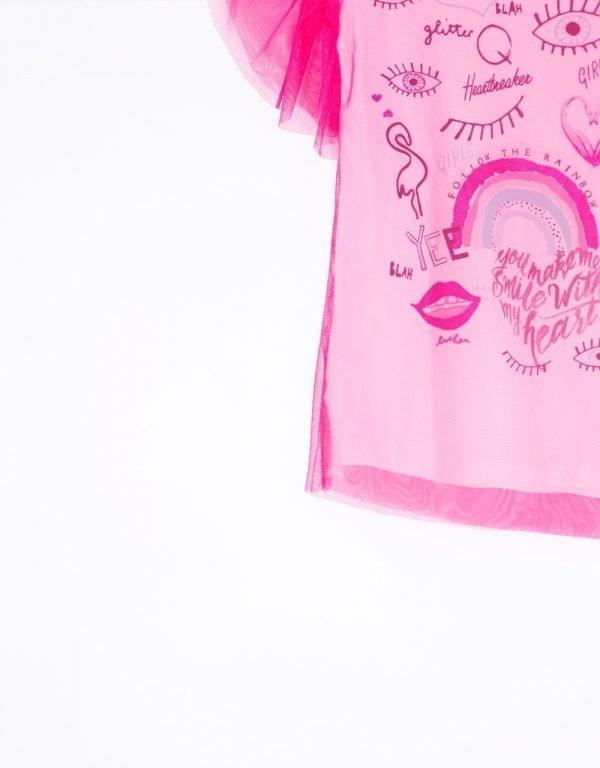 letné šaty ružové