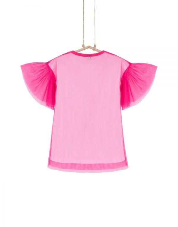 dievčenské šaty ružové
