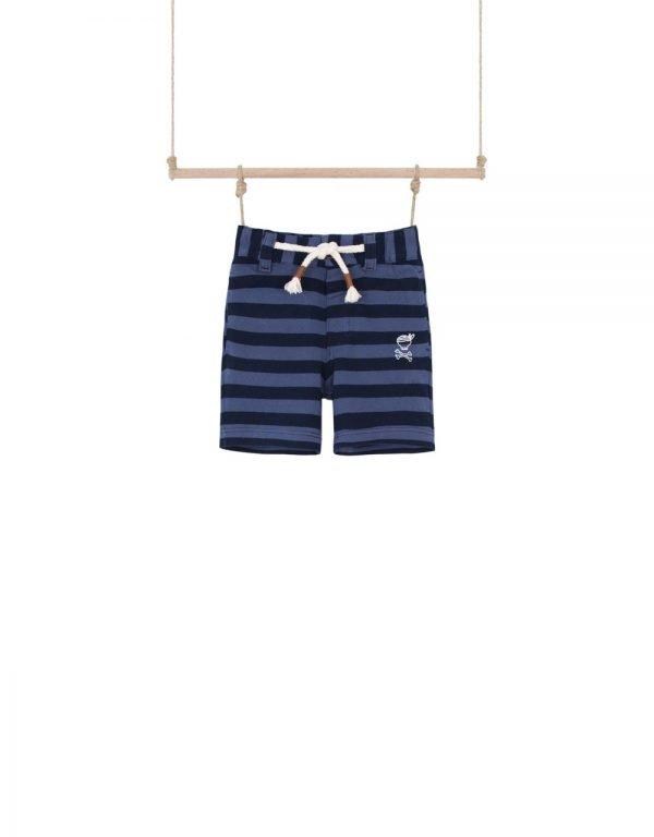 modré kraťasy detské