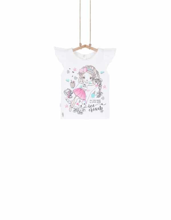 dievčenské tričko Bebakids
