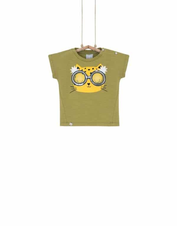 detské tričko s mačičkou