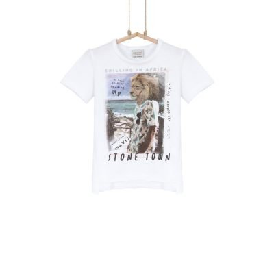 detské tričko s levom