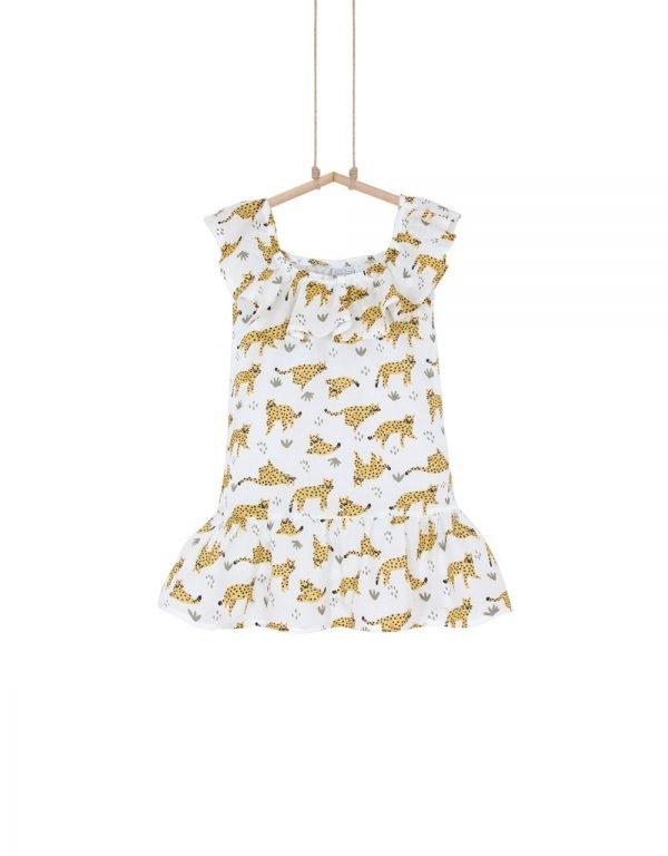 šaty leopard