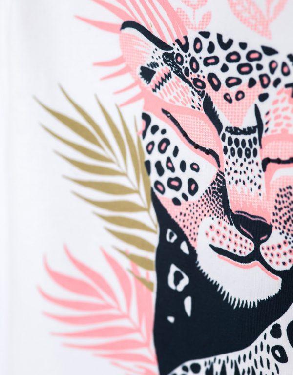 dievčenské leopard