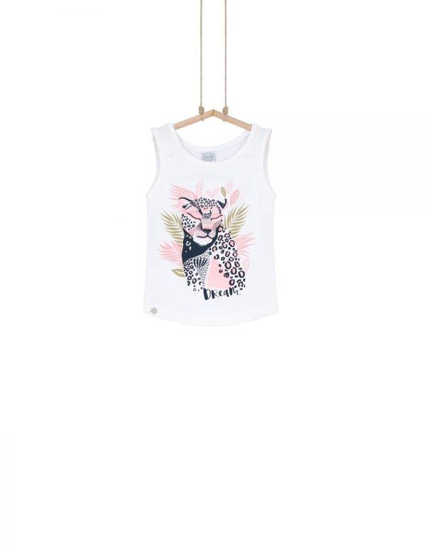 tričko leopard dievčenské