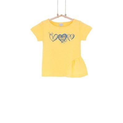 tričko žlté dievčenské