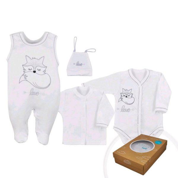 súprava pre novorodenca biela