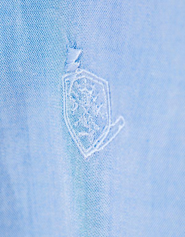 detská košeľa modrá