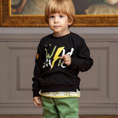 detské tričká s dlhým rukávom
