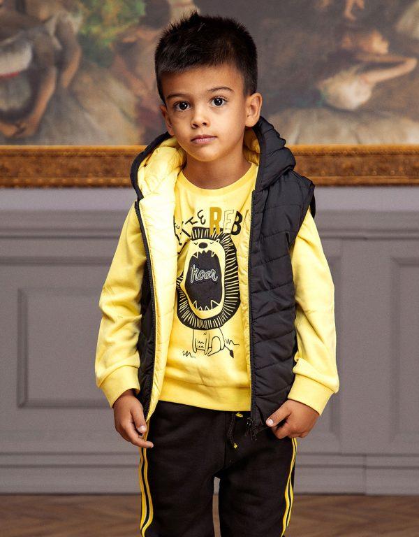 chlapčenské oblečenie žlté