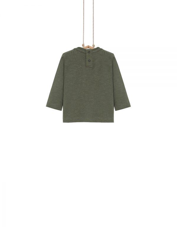 olivové tričko chlapčenské