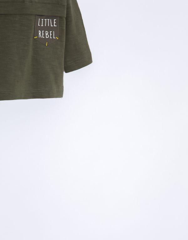 detské tričko zelené