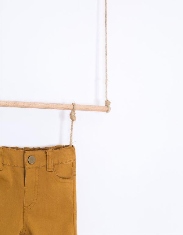 dojčenské nohavice horčicové