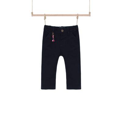 dojčenské nohavice čierne