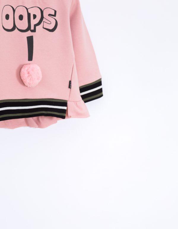 ružová mikina 74 80