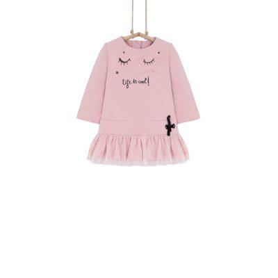 tunika pre dievčatko ružová
