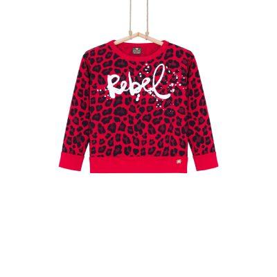 tricko Rebel s leopardim vzorom