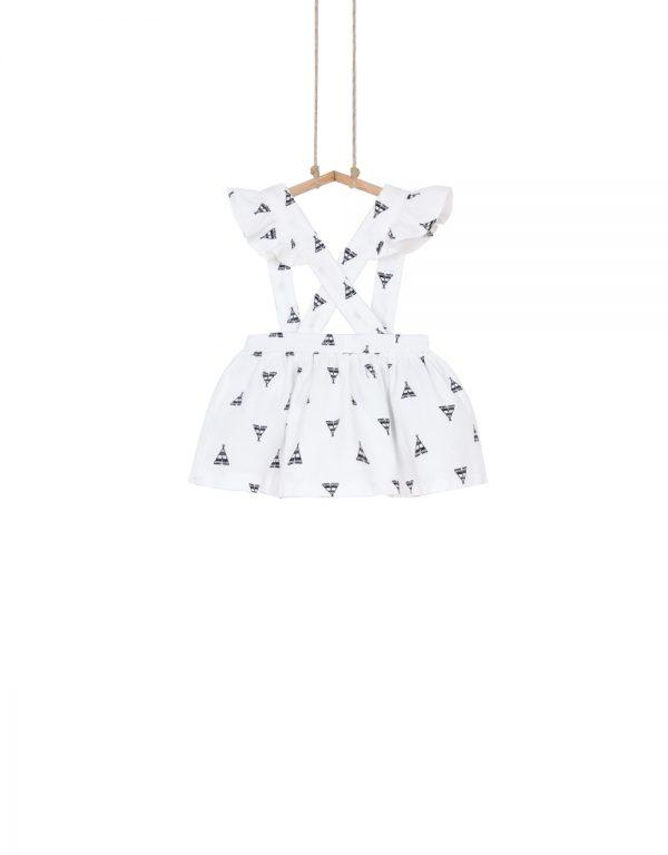 sukňa na traky pre dievčatko