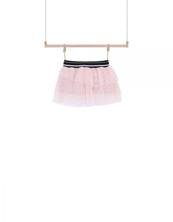 dojčenská suknička ružová