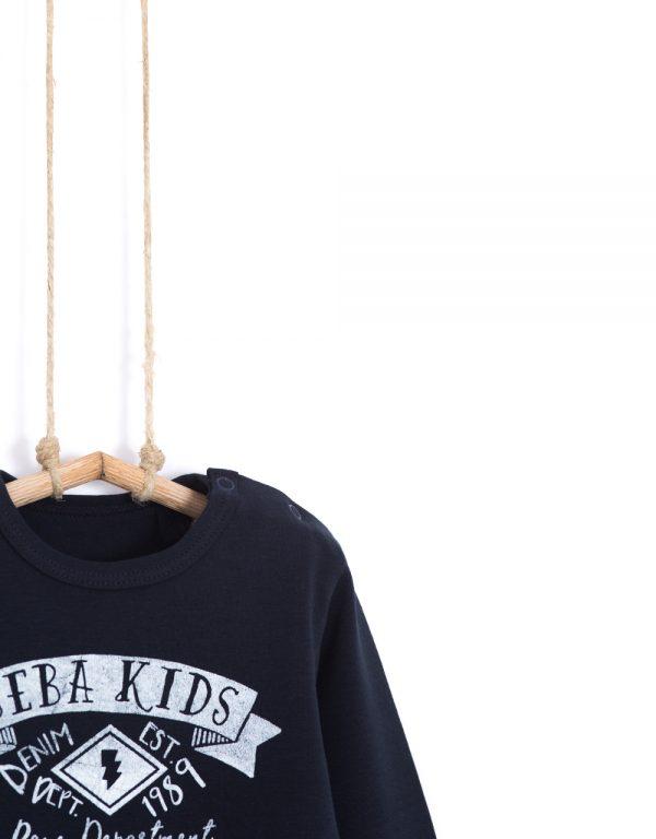 tričko chlapčenské čierne