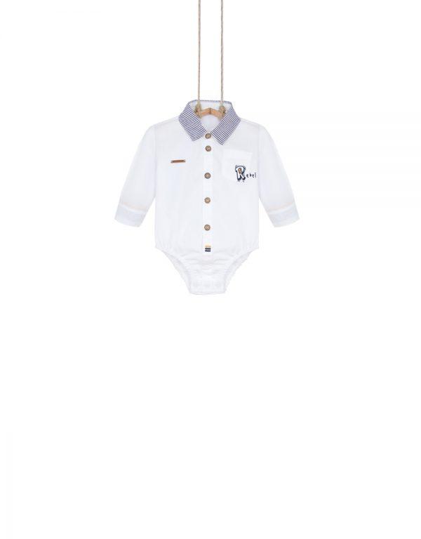 dojčenské body košeľové