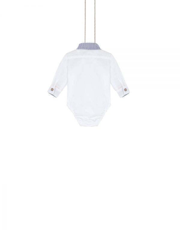 biele body košeľové