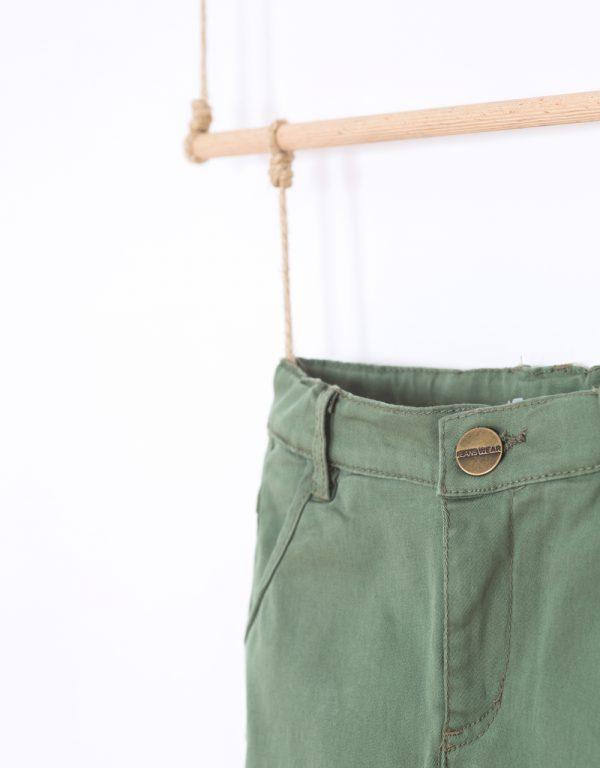 nohavice pre chlapcov zelené