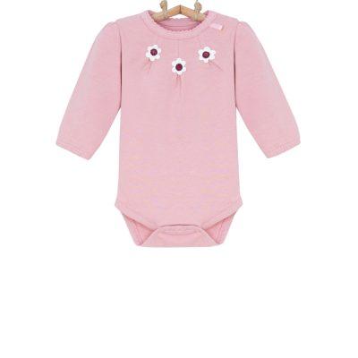 dojčenské body ružové