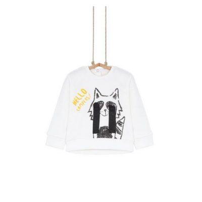 biele tričko Líška