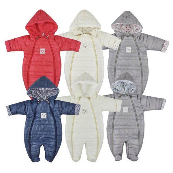zimné kombinézy pre bábätká