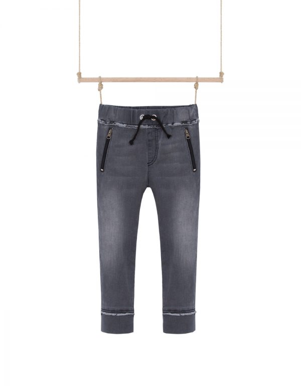 rifľové nohavice na gumu