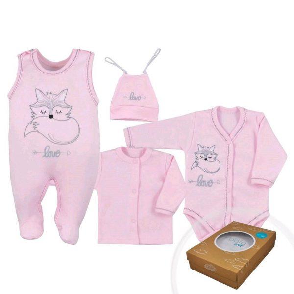 oblečenie pre bábätko ružové