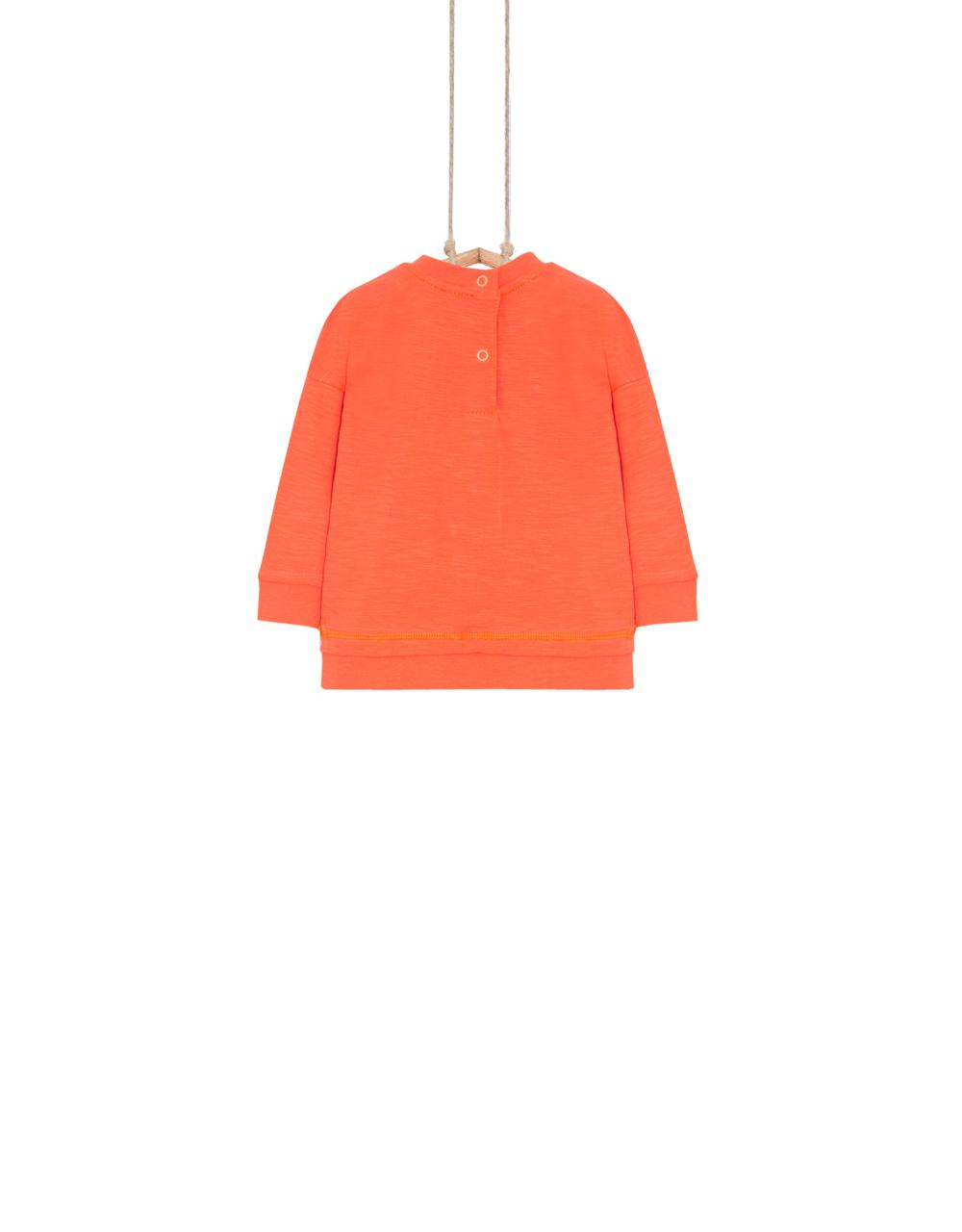 chlapčenské tričko oranžové