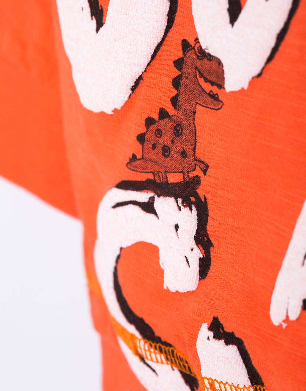 detské oblečenie oranžové