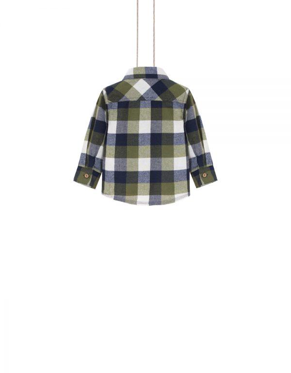 chlapčenská košeľa flanelová