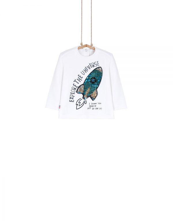 chlapčenské tričká s flitrami