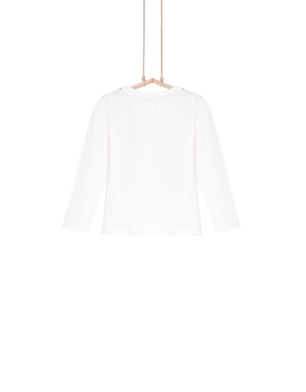 dievčenské tričko bavlnené