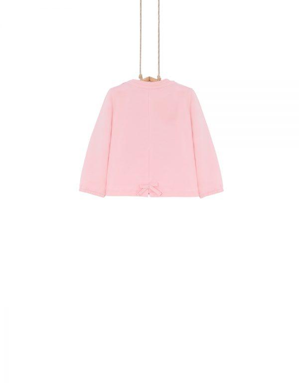 dojčenské tričká ružové