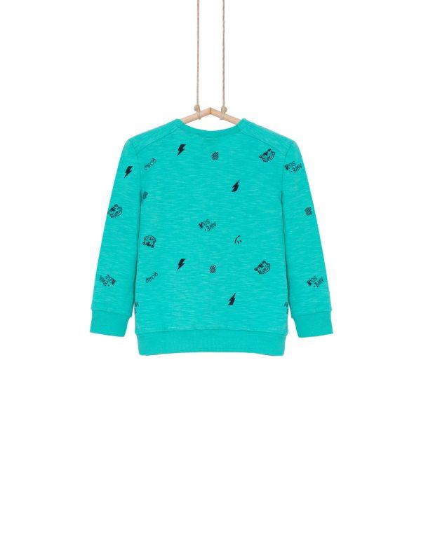 chlapčenské tričko tyrkysové